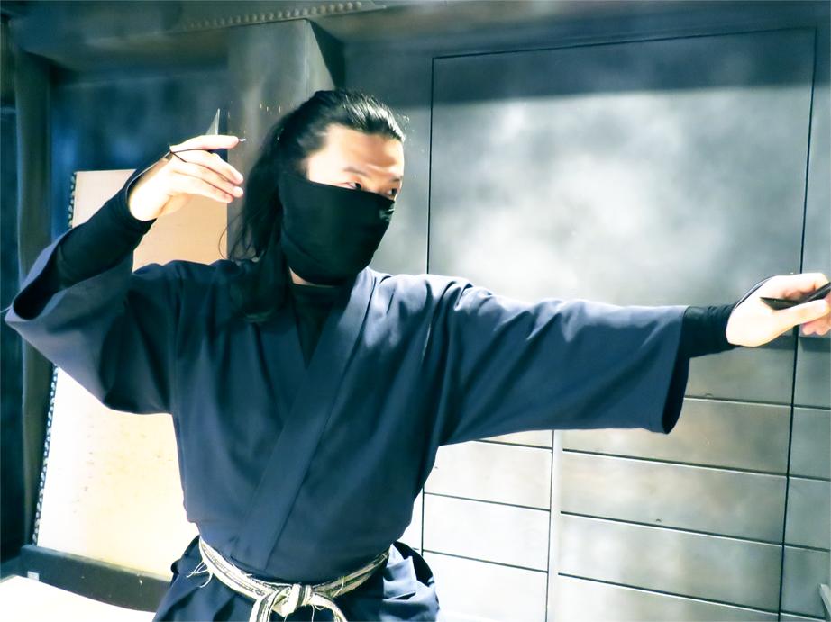 忍者インフォメーションセンター東京の師範写真